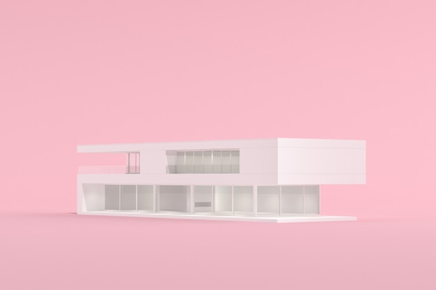 Makieta modelu budynku architektury
