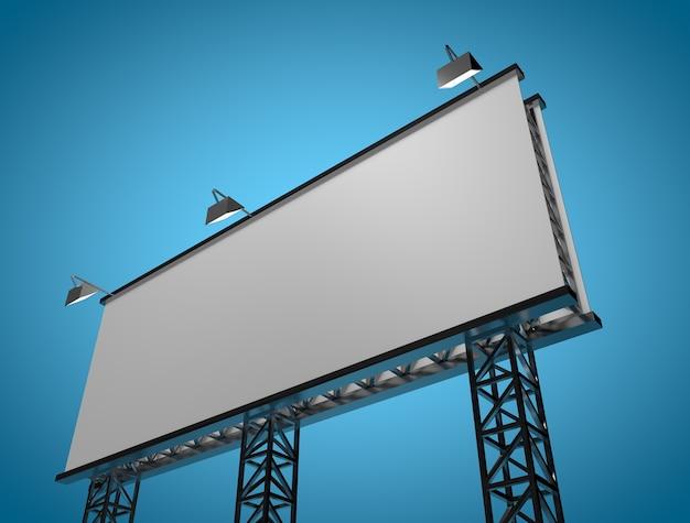 Makieta nowy billboard
