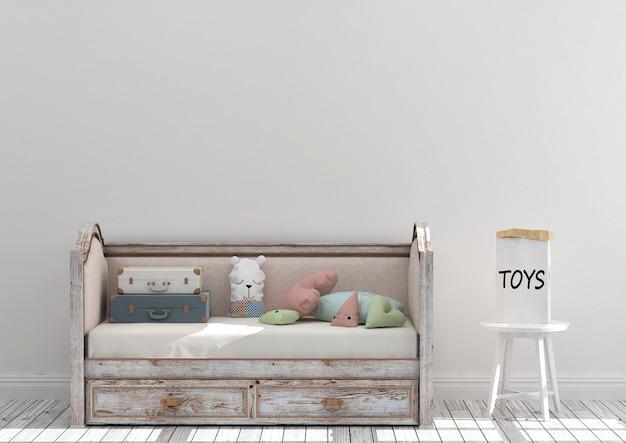 Makieta Pokoju Zabaw Dla Dzieci Premium Zdjęcia