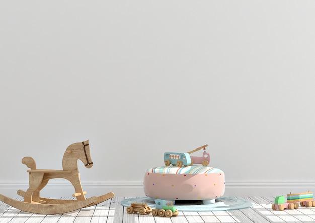 Makieta pokoju zabaw dla dzieci