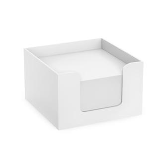 Makieta pudełka na notatki