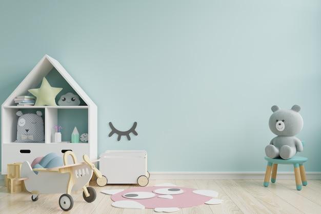 Makieta ściany w pokoju dziecięcym