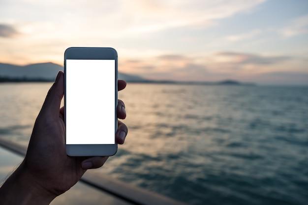 Makieta smartphone