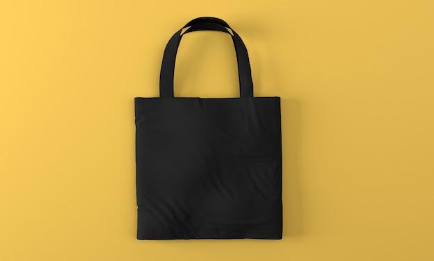 Makieta torby płóciennej