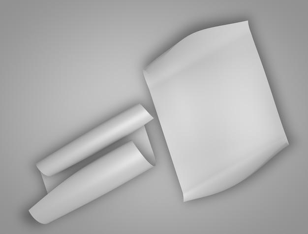 Makieta z papieru i listu