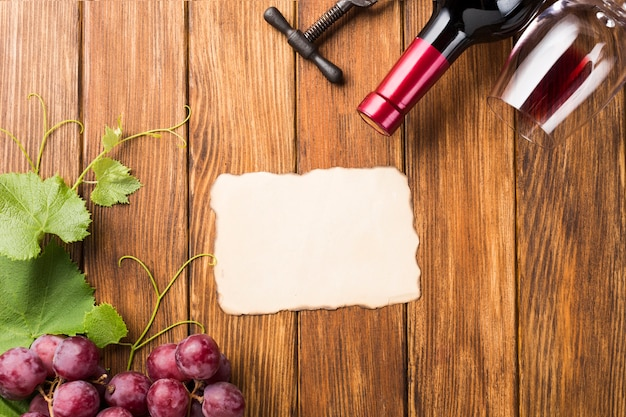 Makiety koncepcji wina z góry