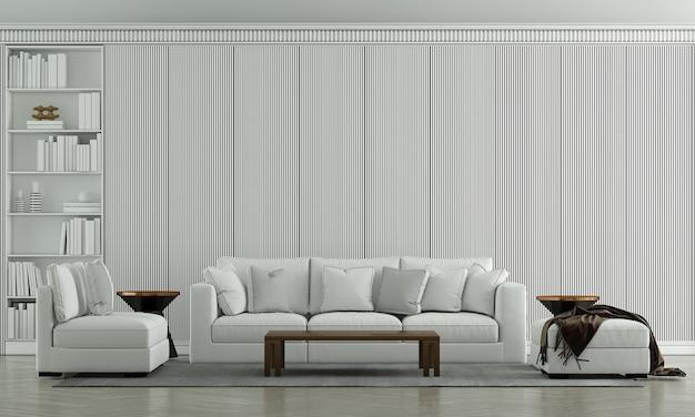 Makiety mebli luksusowy wystrój wnętrz salonu i dekoracja mebli