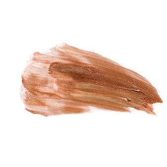 Makijaż fundacja krem bb rozmazany pudrem