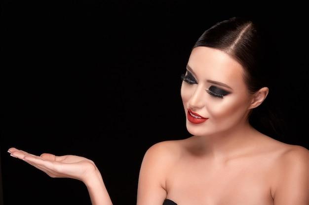 Makijaż model