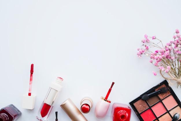 Makijaż szminki