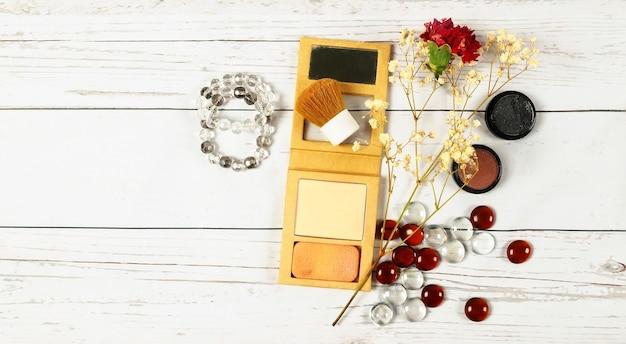 Makijaż torba kobieta dama rzeczy