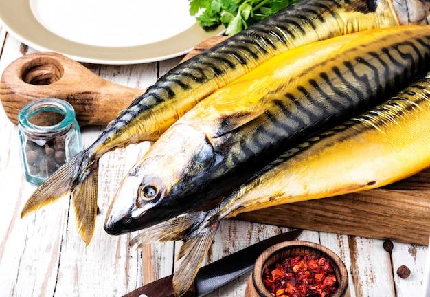 Makrela wędzona ryba
