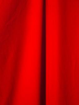 Makro czerwony materiał