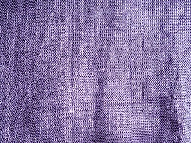 Makro fioletowy materiał tkaniny