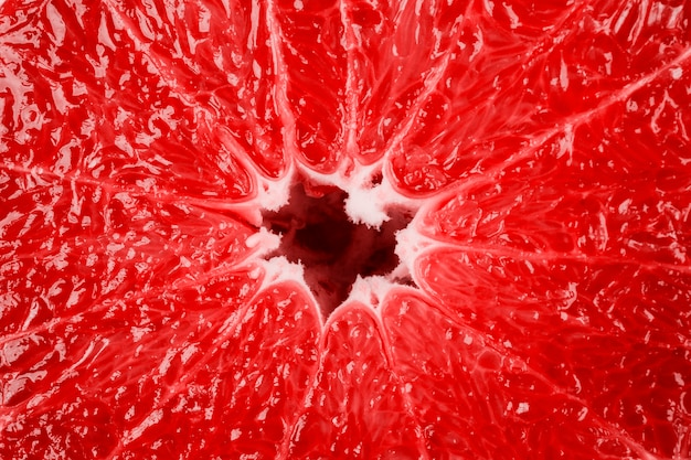 Makro- grapefruitowa struktura jako tło