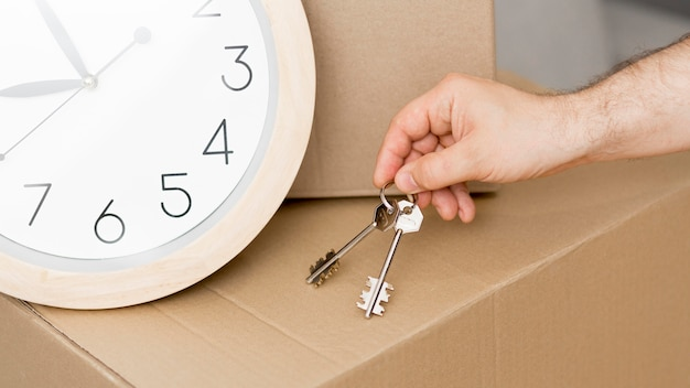 Makro klucze do nowego domu