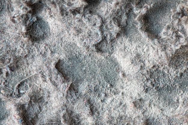 Makro-pył i śmieci z odkurzacza