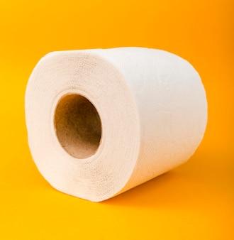 Makro rolka papieru toaletowego