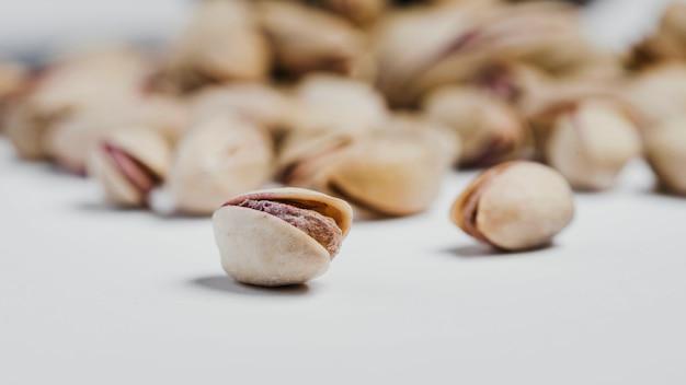 Makro rozlane pistacje