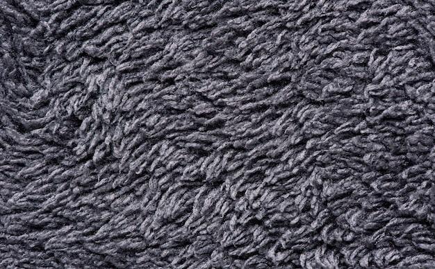 Makro szary kolor tkaniny tekstura tło