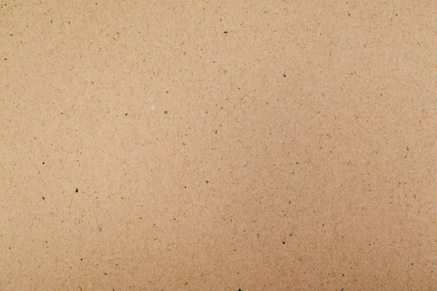 Makro z recyklingu brązowego papieru na tle