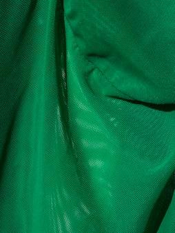 Makro zielony arkusz materiału
