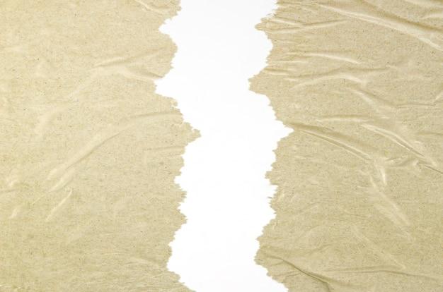 Makro zmięty tekstury taśmy sprzedażowej