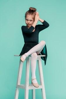 Mała tancerka baleriny