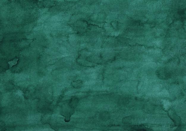 Malarstwo akwarela głęboki zielony morze