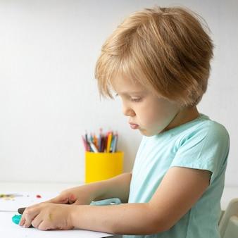 Malarstwo chłopca