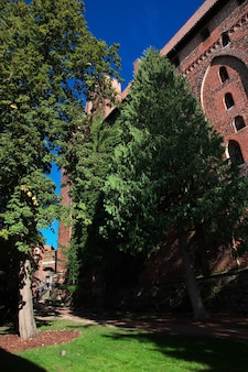 Malbork to zamek krzyżowców w polsce