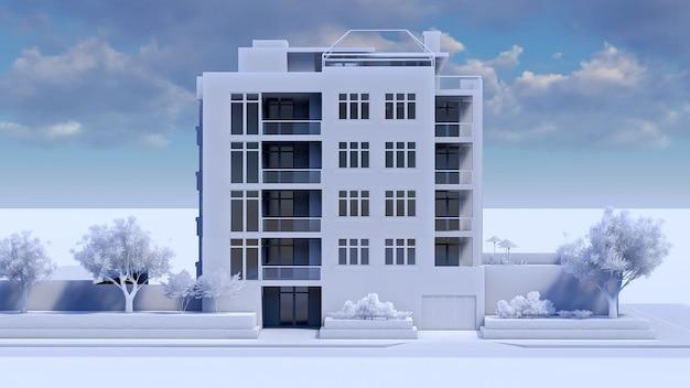 Małe funkcjonalne mieszkanie z własnym ogrodzonym terenem, garażem i basenem