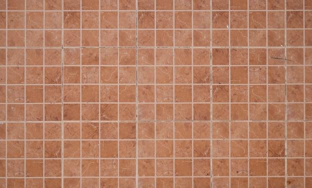 Małe kolorowe kwadratowe płytki, mozaika dekoracyjna