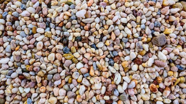 Małe skały lub tekstura kamienia.