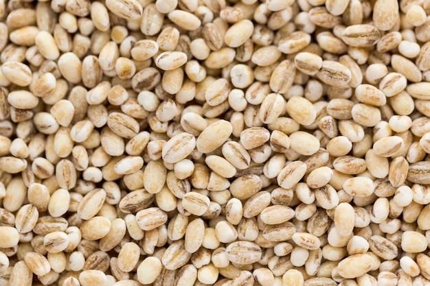 Małe suche nasiona zbóż w tle