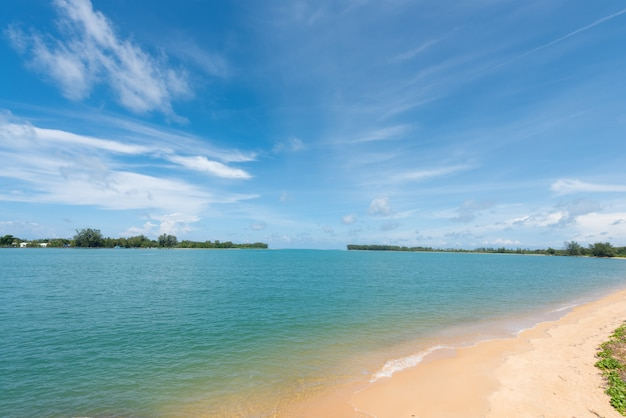 Małe ujście morza phuket