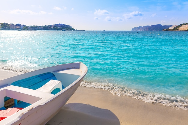 Mallorca cala santa ponsa ponca plaża w majorca