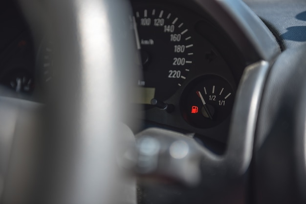 Mało paliwa