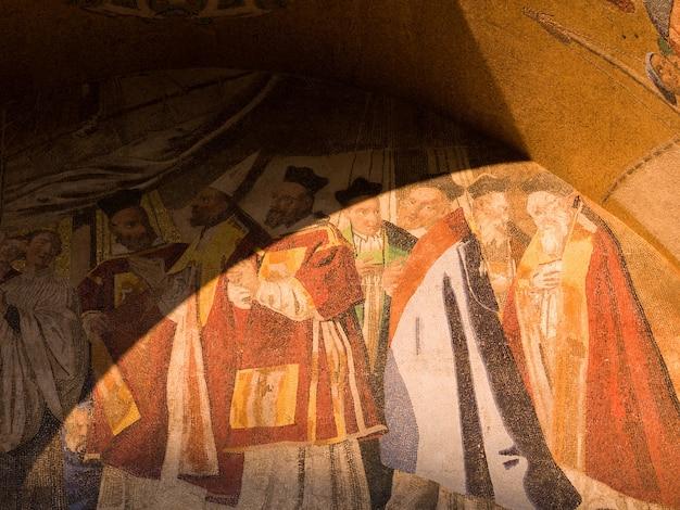 Malowidło ścienne w wenecji