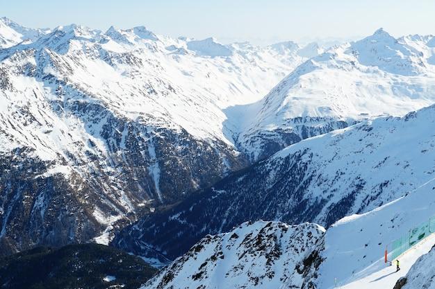 Malownicze góry w austriackich alpach