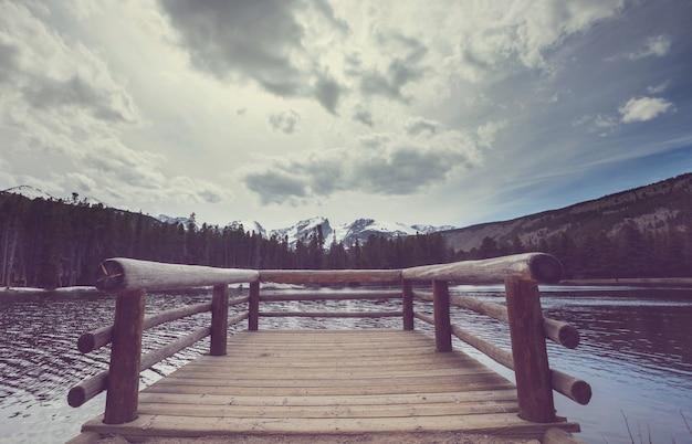 Malownicze jezioro