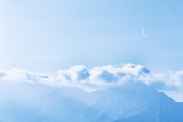 Malowniczy widok nieba