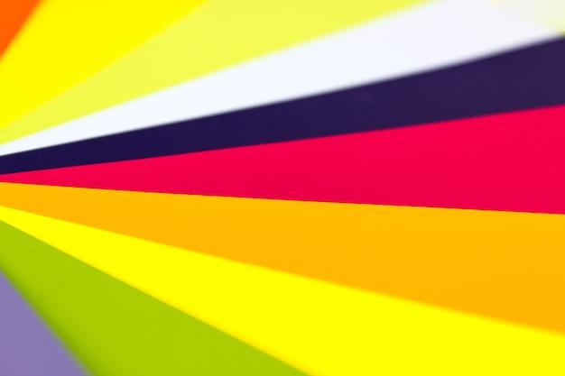 Maluj karty kolorów. tło projektu. paleta różnych kolorów i odcieni.