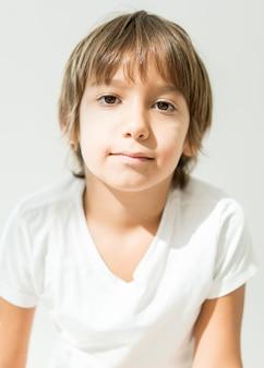 Mały chłopiec portret