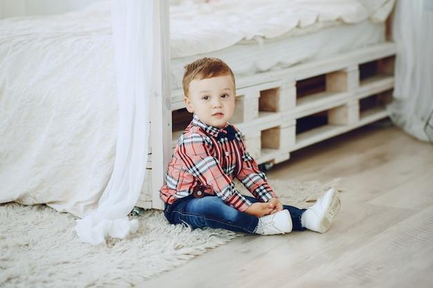 Mały chłopiec
