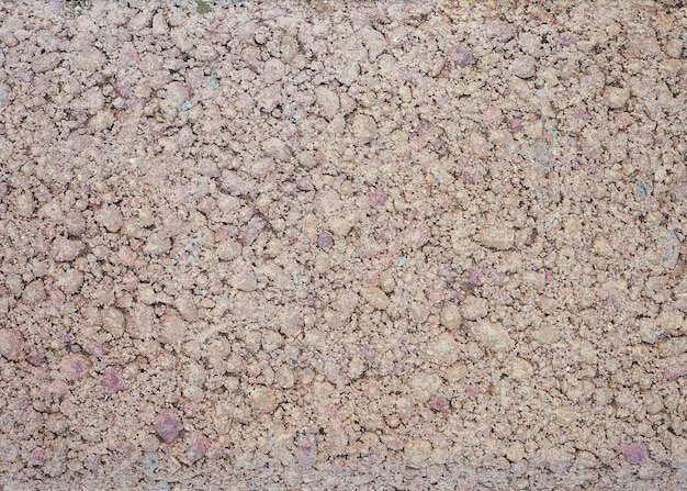 Mały kamień makro tekstury żwir granitowy na drodze