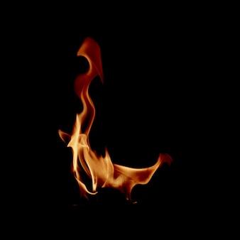 Mały płomień ognia