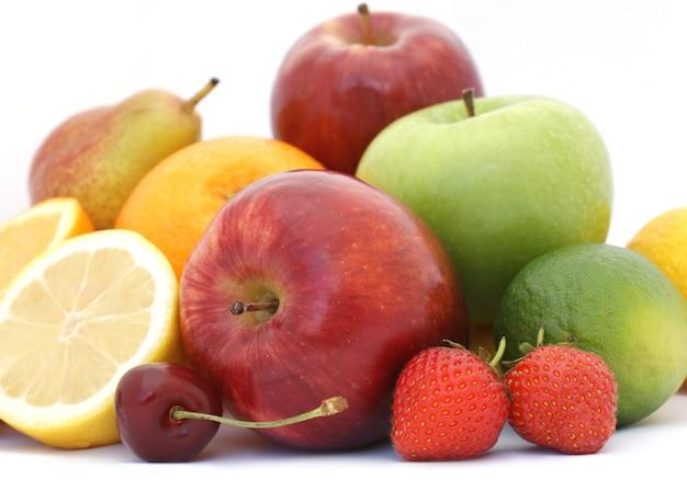 Mały wyświetlacz świeżych owoców
