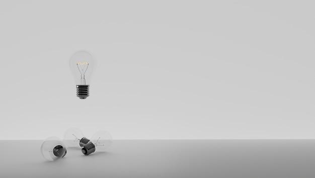 Mam pomysł i chcę go chronić. opatentowanie pomysłu. eureko, mam pomysł. symbol żarówki związany z pomysłem. zapaliła się żarówka. białe tło.