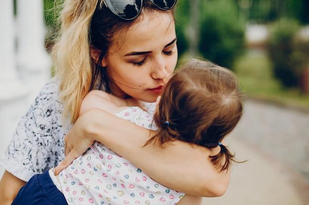 Mama odpoczynku z córką
